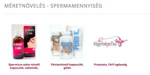 spermiumszám növelés
